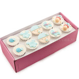 CF06 Jolly Beanie sweetest moments standard cupcake moist chocolate full month boy blue box of 10