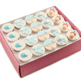 CF06 Jolly Beanie sweetest moments standard cupcake moist chocolate full month boy blue box of 20