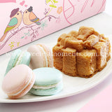 Wedding Guo Da Li Gift Voucher VW02 Blissful Wedding Gift Voucher Macarons Cake Present