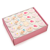 CF06 Jolly Beanie sweetest moments standard cupcake moist chocolate full month girl pink box of 20