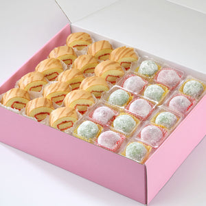 AC06 Modern Treats 3 Tea Party Sets Sweetest Moments Mochi Swiss Rolls