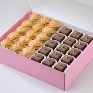 AC09 Modern Treats 6 Tea Party Sets Sweetest Moments Brownies Swiss Rolls