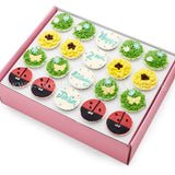 CK01 Garden Theme Sweetest Moments Birthday Standard Cupcake Buttercream Box of 20