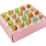 CKB10 Dreamy Ombre Sweetest Moments Birthday Standard Cupcake Buttercream Box of 20