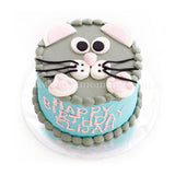 CKR07 Mousey Sweetest Moments Birthday Cake Buttercream Fondant 6 inch