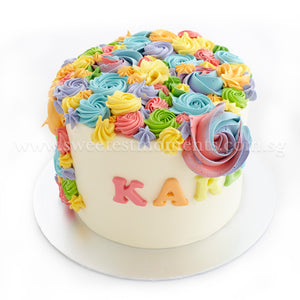 CKR35 Magical Fairytale Sweetest Moments Birthday Cake Buttercream