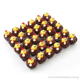 CM10 Mini Chicky Chicks Sweetest Moments Full Month Mini Cupcake Buttercream Fondant Box of 30