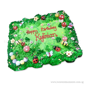 CMP06 Garden Sweetest Moments Birthday Pull Apart Mini Cupcake Buttercream