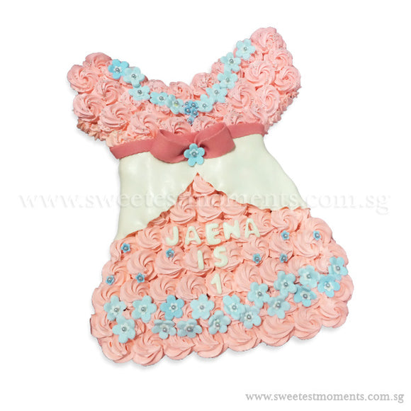CMP07 Dress Sweetest Moments Birthday Pull Apart Mini Cupcake Buttercream