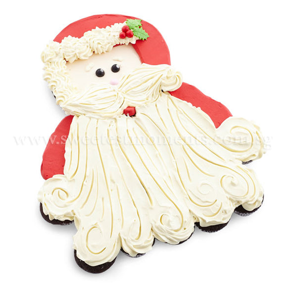 COMP03 Jolly Santa Sweetest Moments pull apart mini cupcakes 6 inch standard moist chocolate christmas