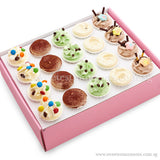 CS03 Tea-Break Delights Sweetest Moments Standard Cupcake Buttercream Box of 20