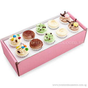 CS03 Tea-Break Delights Sweetest Moments Standard Cupcake Buttercream