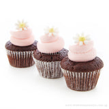 CWM02 Blush Full Month Birthday Wedding Corporate Mini Cupcakes Buttercream Sweetest Moments