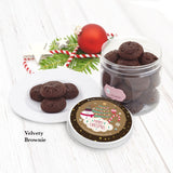 Christmas Velvety Chocolate Cookies Individual Tin