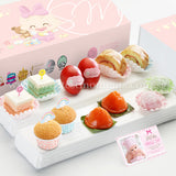 FA17 CLASSIC ABUNDANCE Full Month Package Sweetest Moments Swiss Rolls Good Luck Red Eggs Pastel Cubes Ang Ku Kuehs Mini Muffin Mochi Baby Girl Box