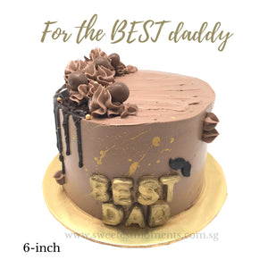 "COR13 ""For the BEST DAD"" Cake"