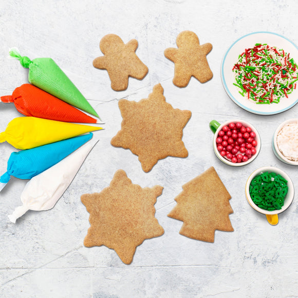 Little Elves' Christmas DIY Cookies Set