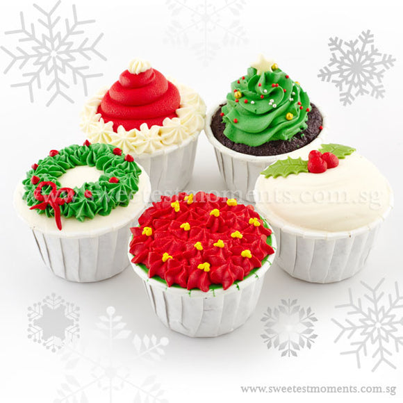 COP09 Magical Cupcakes Sweetest Moments Moist chocolate standard christmas Box of 5