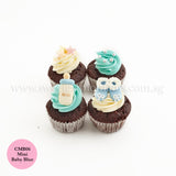 DIY Dessert Table Pack Sweetest Moments Full Month 100th Day Classic Boy CMB06 Mini Baby Blue
