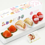 PP01 Classic De Petit Full Month Package Sweetest Moments Swiss Rolls Ang Ku Kuehs Good Luck Red Eggs Baby Block Box
