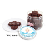 KT Premium Celebration Cookies Sweetest Moments Full Month Birthday Door Gifts Velvety Brownie