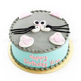 CKR07 Mousey Sweetest Moments Birthday Cake Buttercream Fondant