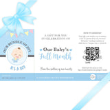 Sweetest Moments Baby Full Month Standard E-Voucher Boy