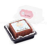 BTI02 Personalise Say It With Brownies (Individually-Packed) Sweetest Moments Thank You Edible Image Door Gifts Full Month