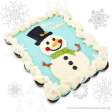 COMP02 snowman pull apart mini cupcakes sweetest moments moist chocolate