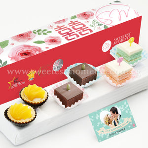 WL03 Lovely Favours Wedding Guo Da Li Package Sweetest Moments Brownies Pastel Cubes Peachy Tarts Peony Romance Box