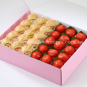 AC12 Traditional Treats 2 Tea Party Sets Sweetest Moments Ang Ku Kueh Swiss Rolls