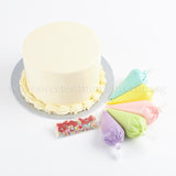 DIY02 DIY Cake Set sweetest moments moist chocolate red velvet handcraft piping bags mini sprinkles cream color