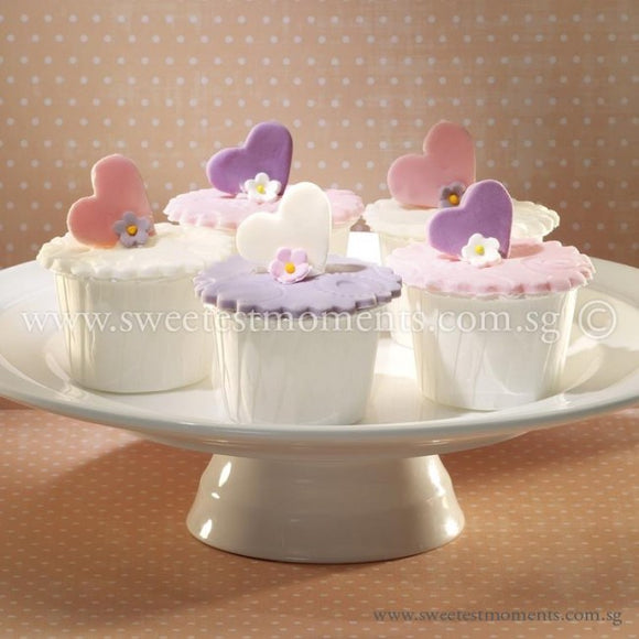 CW05 Spring Love Sweetest Moments Wedding Standard Cupcake Fondant