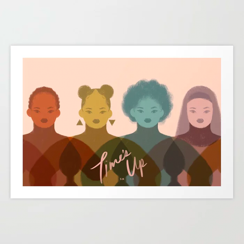 Society6 X TIME'S UP