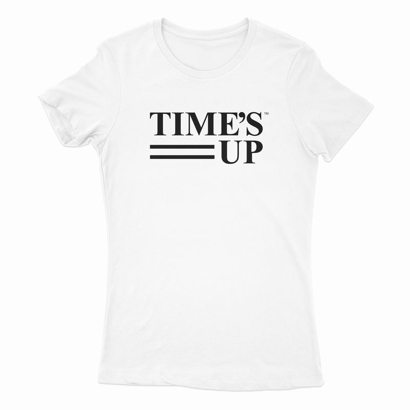 Time's Up Fitted T-Shirt