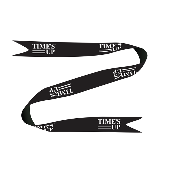 TIME'S UP Ribbon