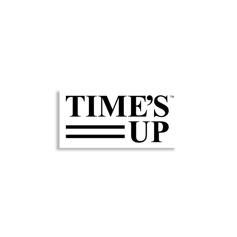 TIME'S UP Mini Sticker