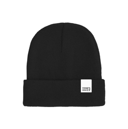 TIME'S UP Tag Beanie