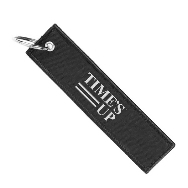 Time's Up Keychain