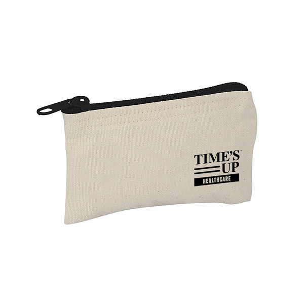 Time's Up Healthcare Canvas Pouch