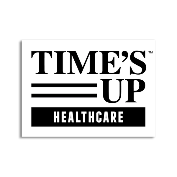 Time's Up Healthcare Sticker