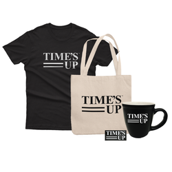 Time's Up Mug and Tote Bundle