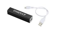 TIME'S UP Portable Charger