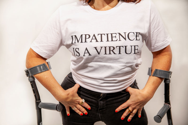 Times Up Impatience T-Shirt
