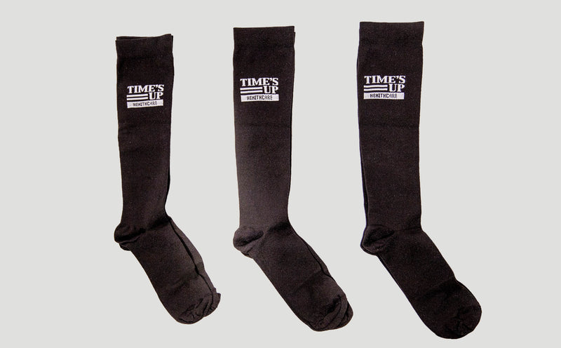 Time's Up Healthcare Compression Socks