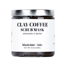 Load image into Gallery viewer, Clay Coffee Scrub Mask