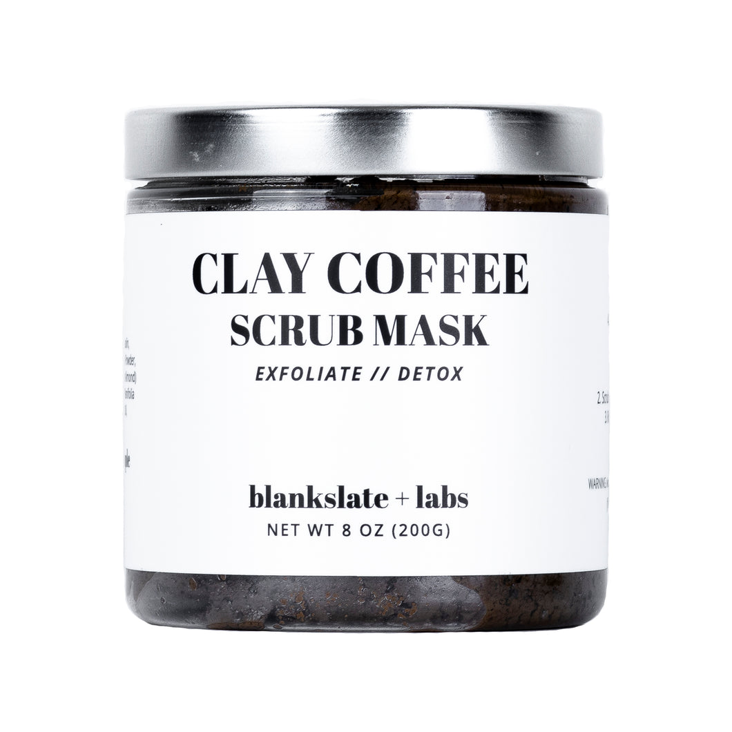 Clay Coffee Scrub Mask