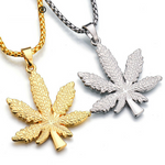 Weed Charm Necklace