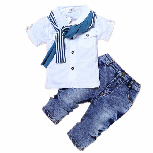 Wesley Denim Set