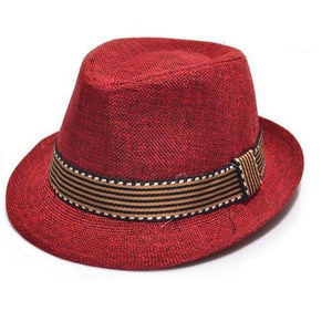 Boys Fedora Hat - Various Colors and Prints